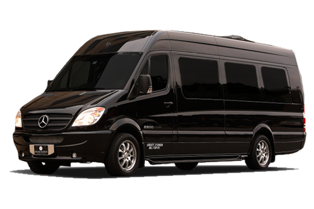 Executive Sprinter Van, Bus, Mercedes Benz Sprinter, Ford Transit