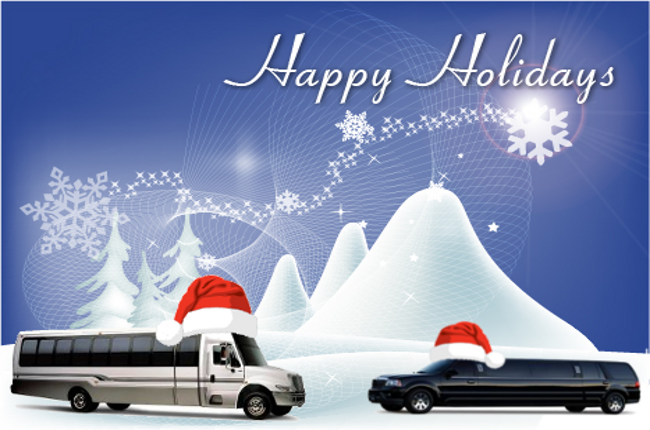Christmas Limo in Chicago, Christmas Limousine, Xmas Limousines, Christmas Car Service