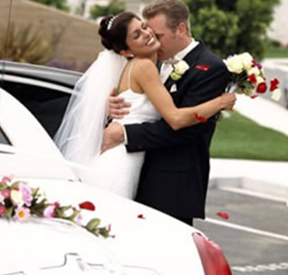 Wedding Limousine Service Chicago Suburbs