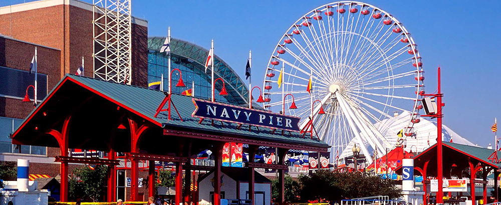 Navy Pier Limo, Limo to Downtown Chicago, Limo Service Chicago