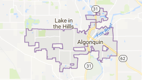 Limo Service Algonquin, Limo O'Hare to Algonquin, Algonquin Limo to Downtown Chicago, Book, Hire, Rent, Algonquin IL Limousine Services