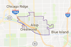 Limo Service Alsip, Limo O'Hare to Alsip, Alsip Limo to Downtown Chicago, Book, Hire, Rent, Alsip IL Limousine Services