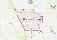 Limo Service Bannockburn, Limo O'Hare to Bannockburn, Bannockburn Limo to Downtown Chicago, Book, Hire, Rent, Bannockburn IL Limousine Services