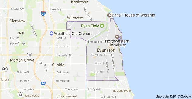 Limo Service Evanston, Limo O'Hare to Evanston, Evanston Limo to Downtown Chicago, Book, Hire, Rent, Evanston IL Limousine Services