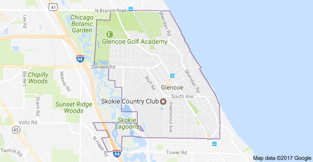 Limo Service Glencoe, Limo O'Hare to Glencoe, Glencoe Limo to Downtown Chicago, Book, Hire, Rent, Glencoe IL Limousine Services