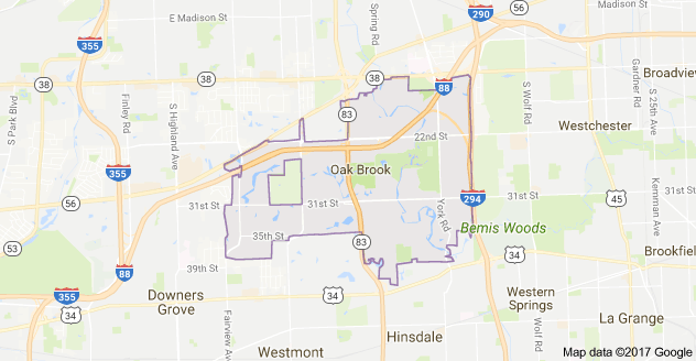 Limo Service Oak Brook, Limo O'Hare to Oak Brook, Oak Brook Limo to Downtown Chicago, Oakbrook Center, Graue Mill & Museum, Pinstripes, Willow Crest Golf Club, Book, Hire, Rent, Oak Brook IL Limousine Services