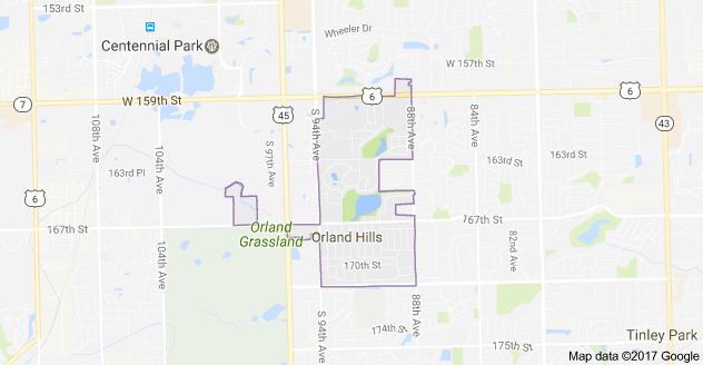 Limo Service Orland Hills, Limo O'Hare to Orland Hills, Orland Hills Limo to Downtown Chicago, Book, Hire, Rent, Orland Hills IL Limousine Services