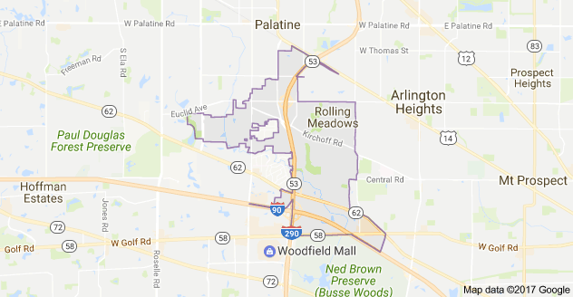 Limo Service Rolling Meadows, Limo O'Hare to Rolling Meadows, Rolling Meadows Limo to Downtown Chicago, Book, Hire, Rent, Rolling Meadows IL Limousine Services