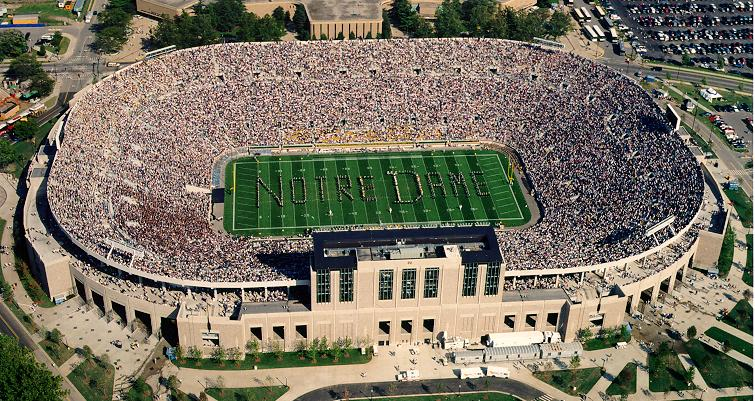 Limo Service South Bend, Notre Dame Football Transportation, Limo Service Indiana, NCAA Notre Dame Car Service, Bus to Notre Dame